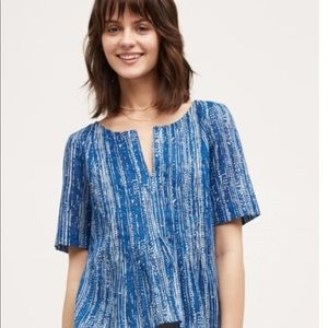 MAEVE Anthropologie Orchid Island Top